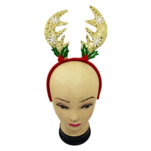 X'MAS HAIRBAND HORN