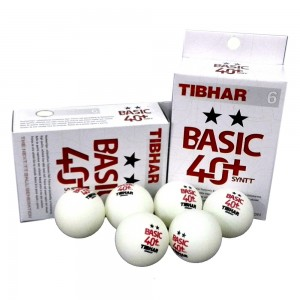 TIBHAR BASIC 2 STAR 40+ BALL(WHITE)