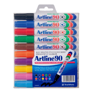 ARTLINE 90 MARKER SET(10)