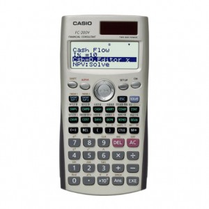 CASIO FC-200V CALCULATOR