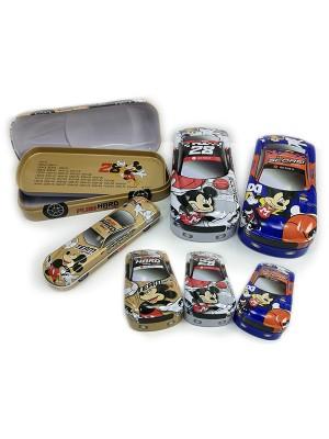 82625 PENCIL BOX (B+S) MICKEY CAR
