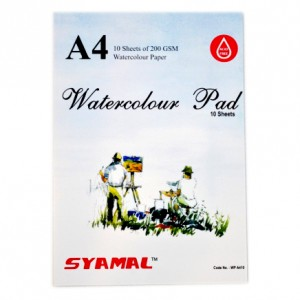 WATER COLOR PAD, 200GSM