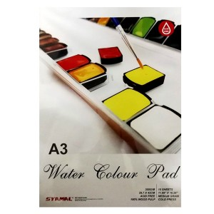 WATER COLOR PAD, 300GSM