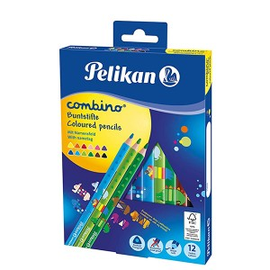 PELIKAN COMBINO COLOURED PENCILS