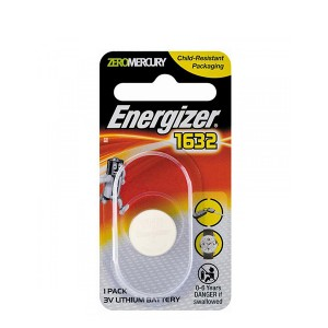 ENERGIZER BATTERY CR1632 BP1