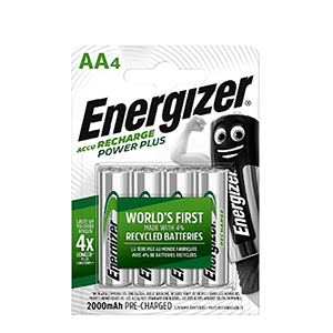 ENERGIZER NH15RP4PP 4AA BTY POWER PLUS