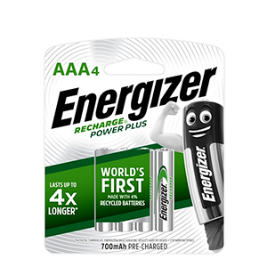 ENERGIZER NH12RP 4PP 4AAA BTY POWER PLUS
