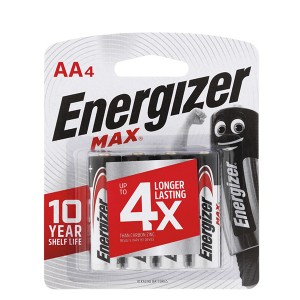 ENERGIZER BATTERY AA BP4