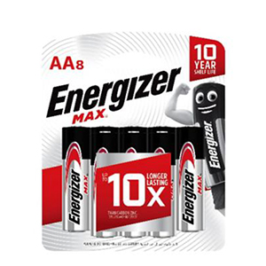 ENERGIZER BATTERY AA BP8