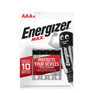 ENERGIZER BATTERY AAA BP4