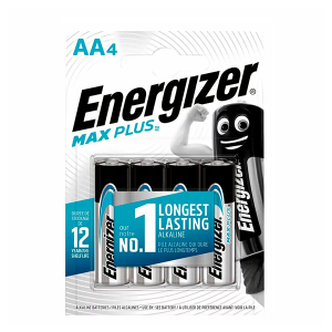 ENERGIZER MAX PLUS BATTERY AA BP4
