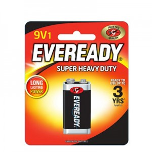 EVEREADY BATTERY 9V BP1