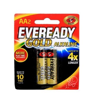 EVEREADY BATTERY GOLD AA BP2
