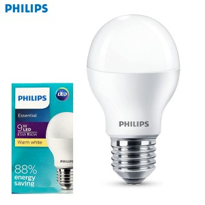PHILIPS E27 LED BULB (WARM WHITE)
