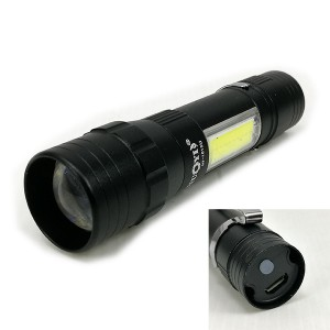 1+1 LED USB TORCH LIGHT 1615U