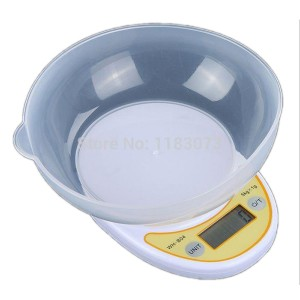 ELECTRONIC KITCHEN SCALE 1G-5KG