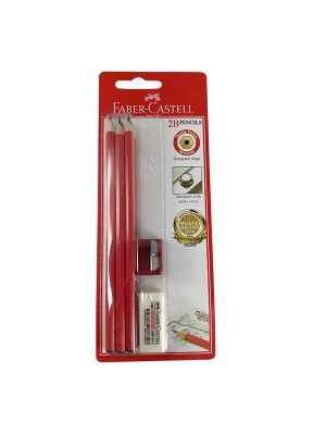 FABER CASTELL 132306 2B PENCIL SET