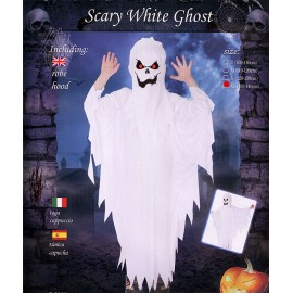 COSTUME SCARY WHITE