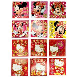 RED PACKET_DISNEY 6's SQUARE DF AND KTF