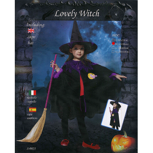 COSTUME LOVELY WITCH