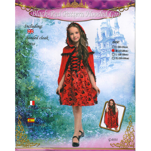 COSTUME RED HOODED GIRL