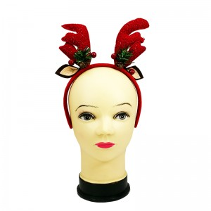 X'MAS HAIRBAND (DEER & EAR)