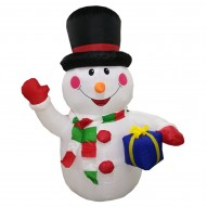 INFLATABLE SNOWMAN 1.9M