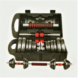 DUMBBELL SET WITH CONNECTOR