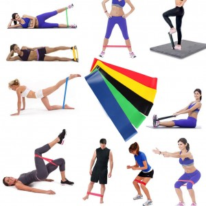 FITNESS EXERCISE BAND (5)