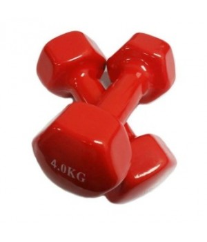 4KG RUBBER COATED COL