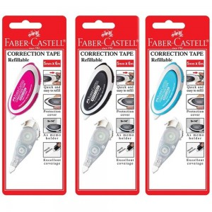 FABER CASTELL 169102 CORR TAPE+REFILL