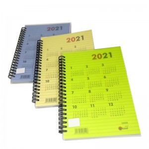 UKAMI S8069 A5 PVC RING PLANNER POCKET