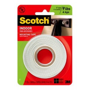 3M-110 INDOOR PERMANENT MOUNTING TAPE