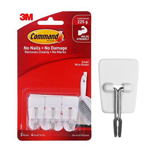 3M COMMAND SMALL WIRE HOOKS 17067ANZ