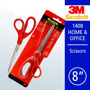 "3M SCOTCH 1408 8"" HOME & OFFICE SCISSORS"