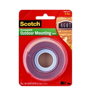 "3M-4011 MOUNTING TAPE EXTERIOR 1"" x 60"""