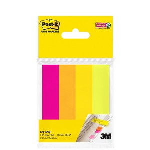 3M 670-4AN POST IT® PAGE MARKERS