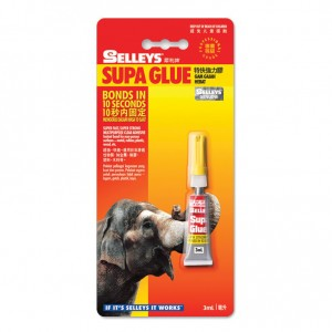 SELLEYS SUPA GLUE 3ML