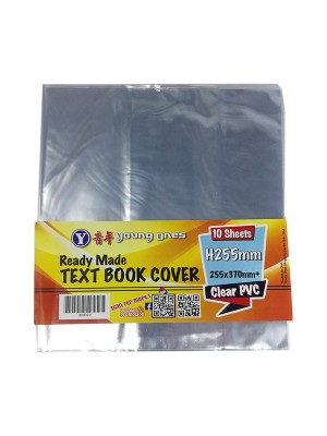 TEXT BOOK COVER 10's(Clear)