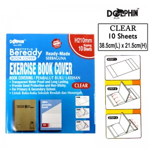 DOLPHIN EX.BK COVER~CLEAR 110099
