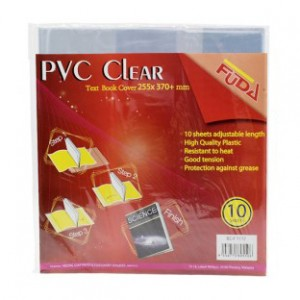 FUDA PVC TEXT CLEAR COVER