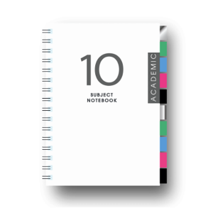 10S-A5 10 SUBJECT NOTE BOOK