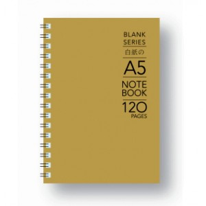 BS-120-A5 BLANK NOTE BK 100gsm 120P