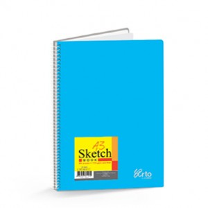 WIRE-O PP COVER SKETCH BOOK (PERFORATED)