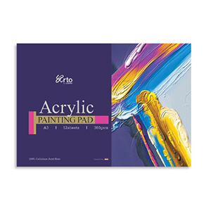 ACRYLIC PAINTING PAPER PAD