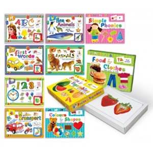 FUTURE ACE - CHILDREN LEARNING AND RECOGNITION FLASH CARDS