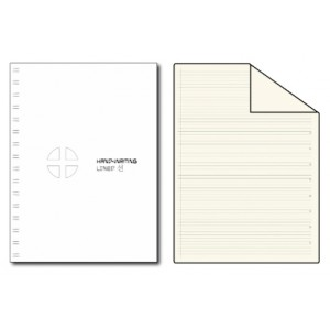 HW-A5-LINED NOTE BK 250P