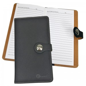 UKAMI S8304 PVC WALLET NOTE BOOK  (RULED LINE)