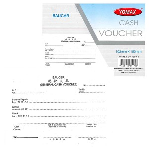 YOMAX CASH VOUCHER CV4060-1