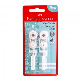 FABER CASTELL 169205 ONE TOUCH CORR REFILLx2